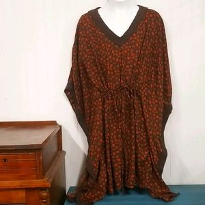 Altar'd State Kaftan Style Tunic Top size L